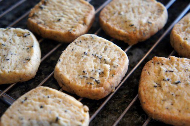 Earl Grey Square Cookies