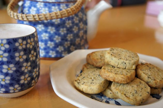 Earl Grey Square Cookies