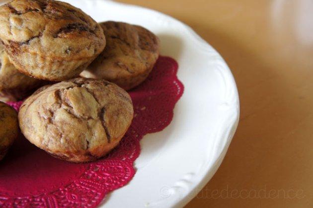 Nutella Banana Muffins