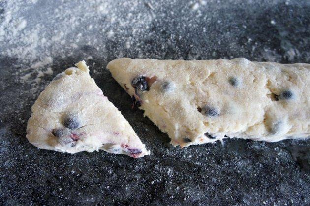 cutting scones