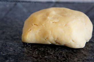 Short pastry dough