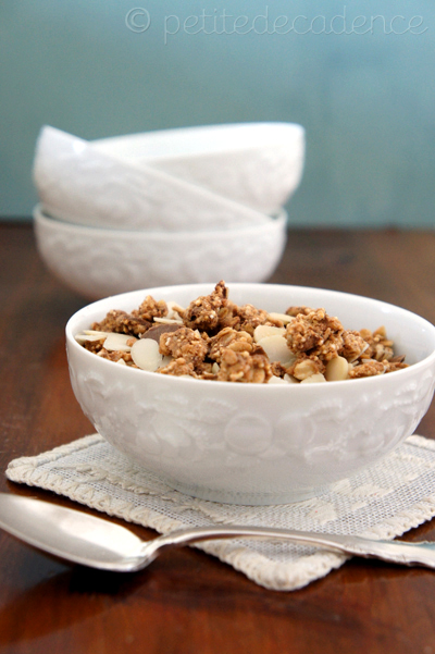 proteing peanut butter granola
