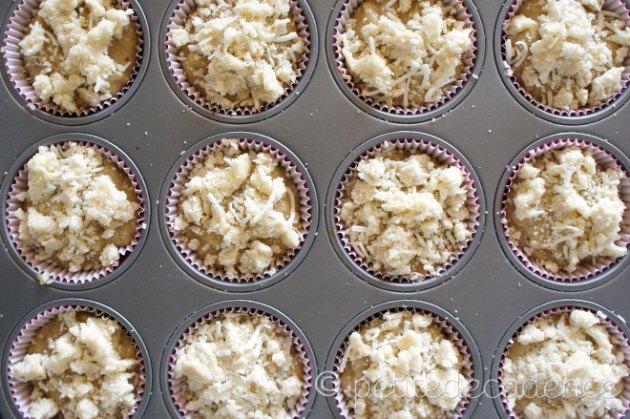 banana rum coconut muffins