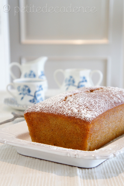 Spiced orange and grand marnier pound cake