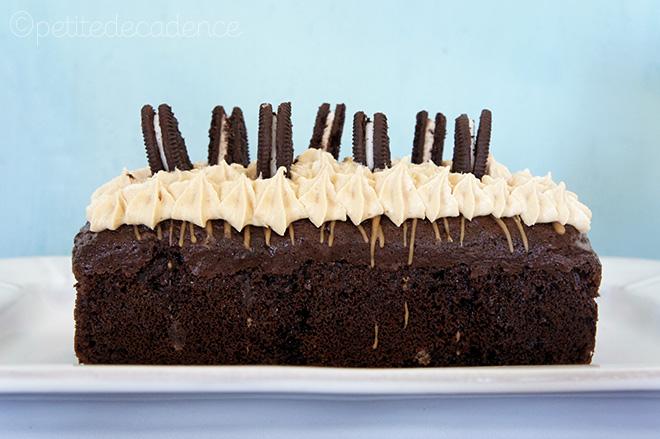 Rectangular Chocolate Cake Grown Up Cake