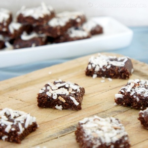 Almond cocoa energy squares